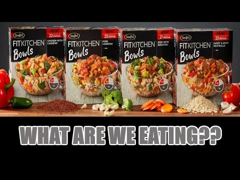 Stouffer's Fit Kitchen BOWLS! - WHAT ARE WE EATING?? - The Wolfe Pit