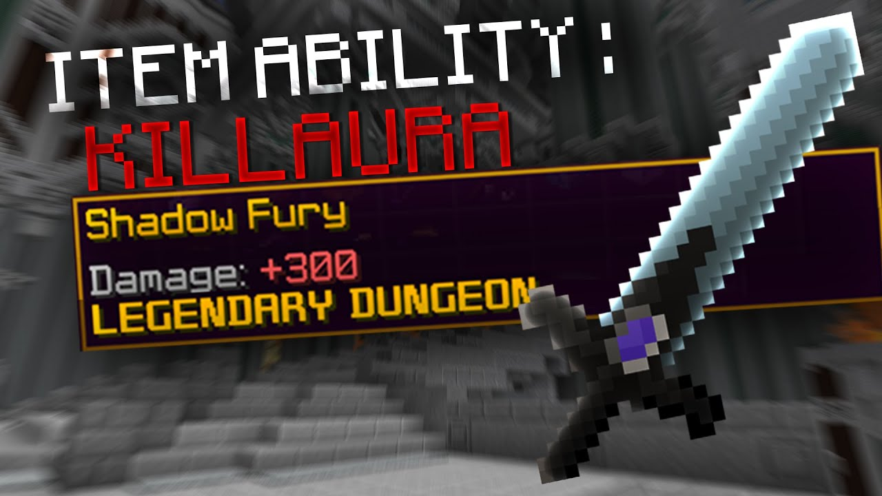 5 Star Shadow Fury = Legalized KillAura | Hypixel Skyblock Dungeons - The Catacombs