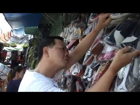 ช้อปปิ้ง ตลาดโรงเกลือ อรัญประเทศ สระแก้ว Shopping at Rong Kluea Market Thailand