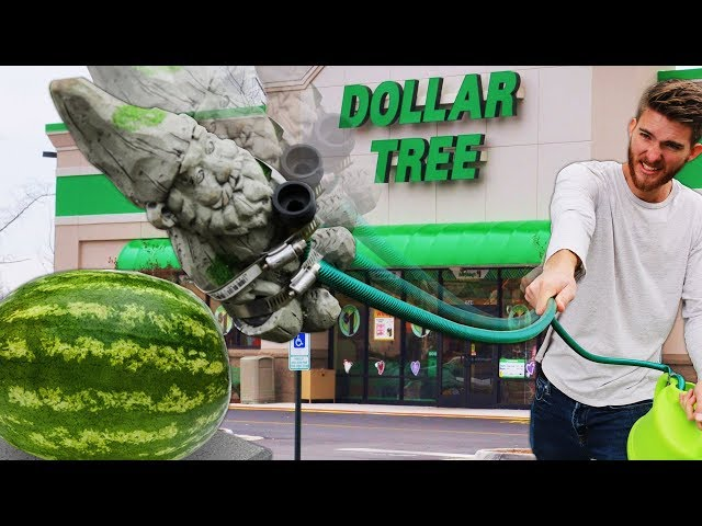 We Built Survival Weapons using ONLY Dollar Tree Items!! *CHEAPEST WEAPONS EVER*