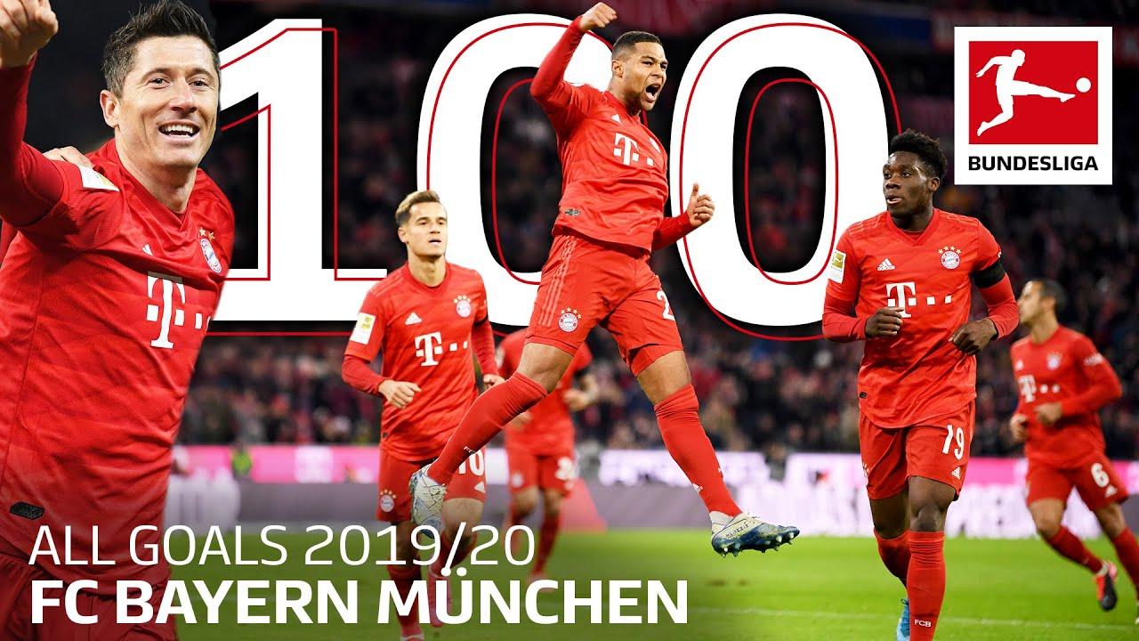FC Bayern München - All 100 Bundesliga Goals 2019/20