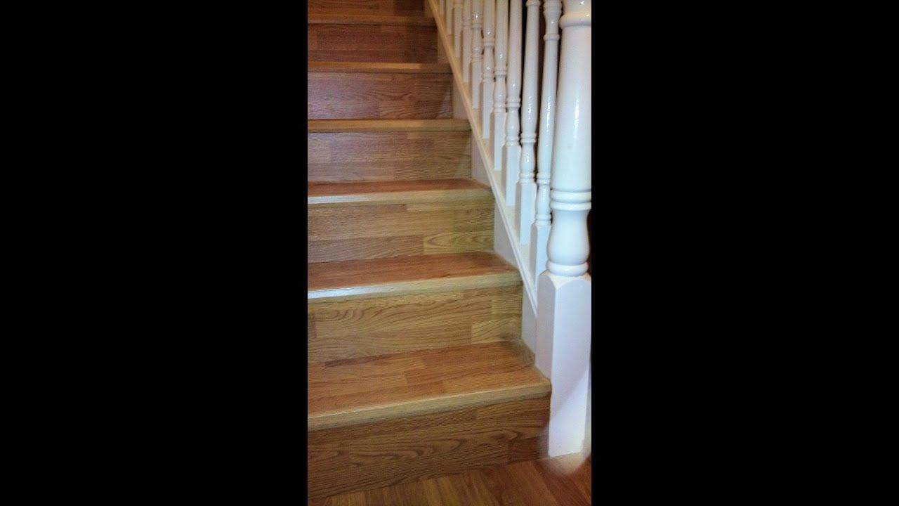 Balterio Laminate Flooring Installed On Stairs Dublin