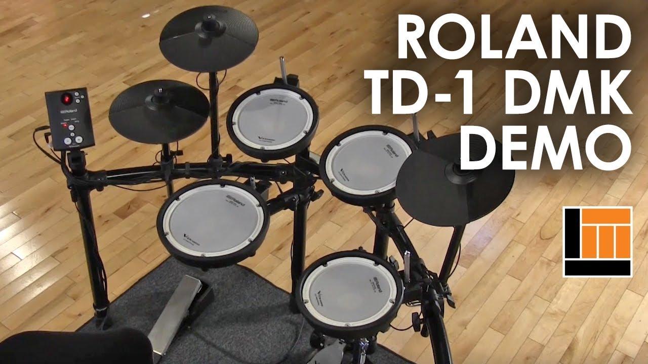 Roland TD-1 DMK V-Drum Kit [Product Demonstration]