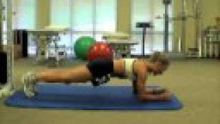 Front Plank Exercise Sequence