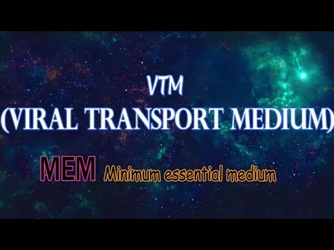 Viral Transport Medium || Minimum essential Medium || composition ,storage ,technique,precaution etc