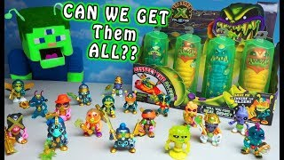 Can ALIEN Puppet Steve Catch All 18 Treasure X Aliens?! EPIC Checklist SET Unboxing