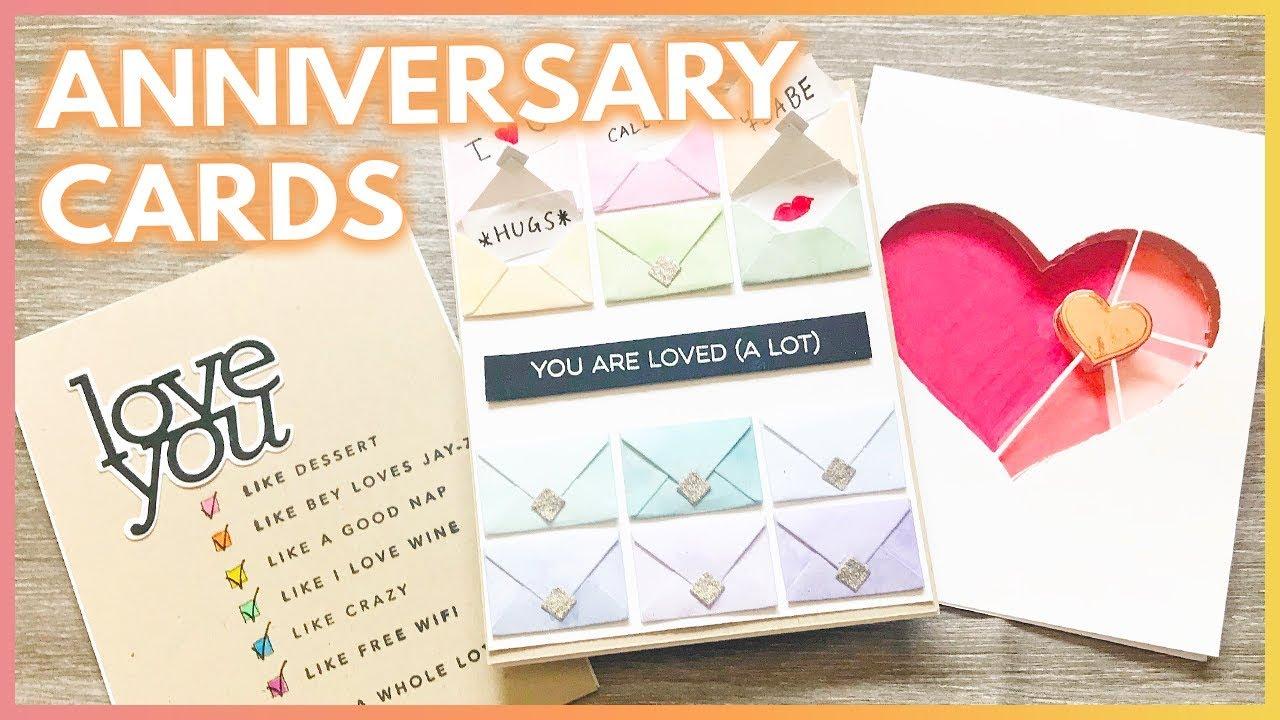 3 Fun Handmade Anniversary Card Ideas For Your Boyfriend