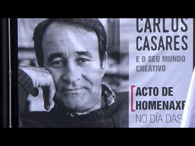Acto de homenaxe a Carlos Casares  maio 2016