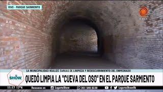 La Municipalidad limpió la Cueva del Oso