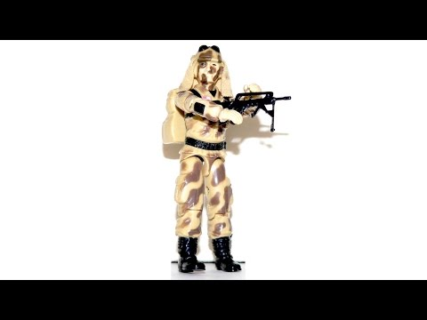 1985 Dusty (Desert Trooper) G.I. Joe review