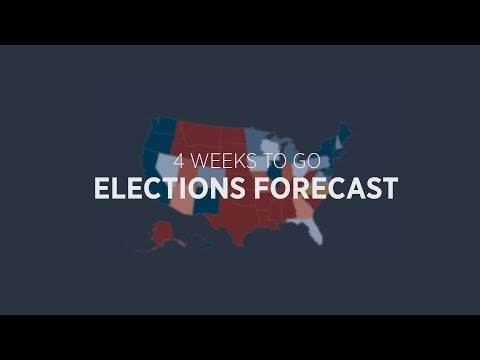 4 Weeks To Go: Top Senate Challengers and Vulnerable House Incumbents