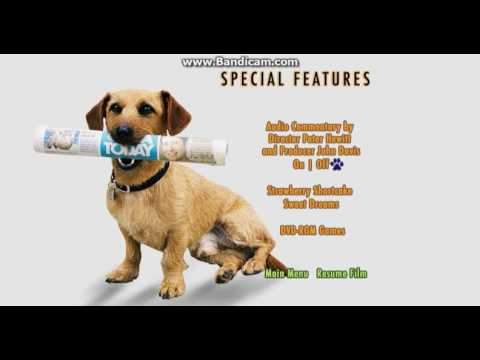 Garfield Movie 2004 DVD Menu Walkthrough (Disc 1)