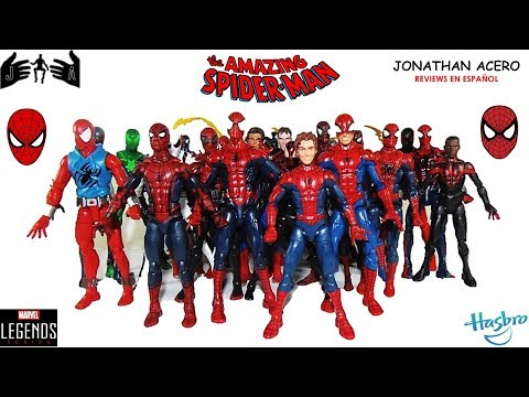 Spiderman Colección by HASBRO vídeo 400 del Canal Jonathan Acero Reviews en Español