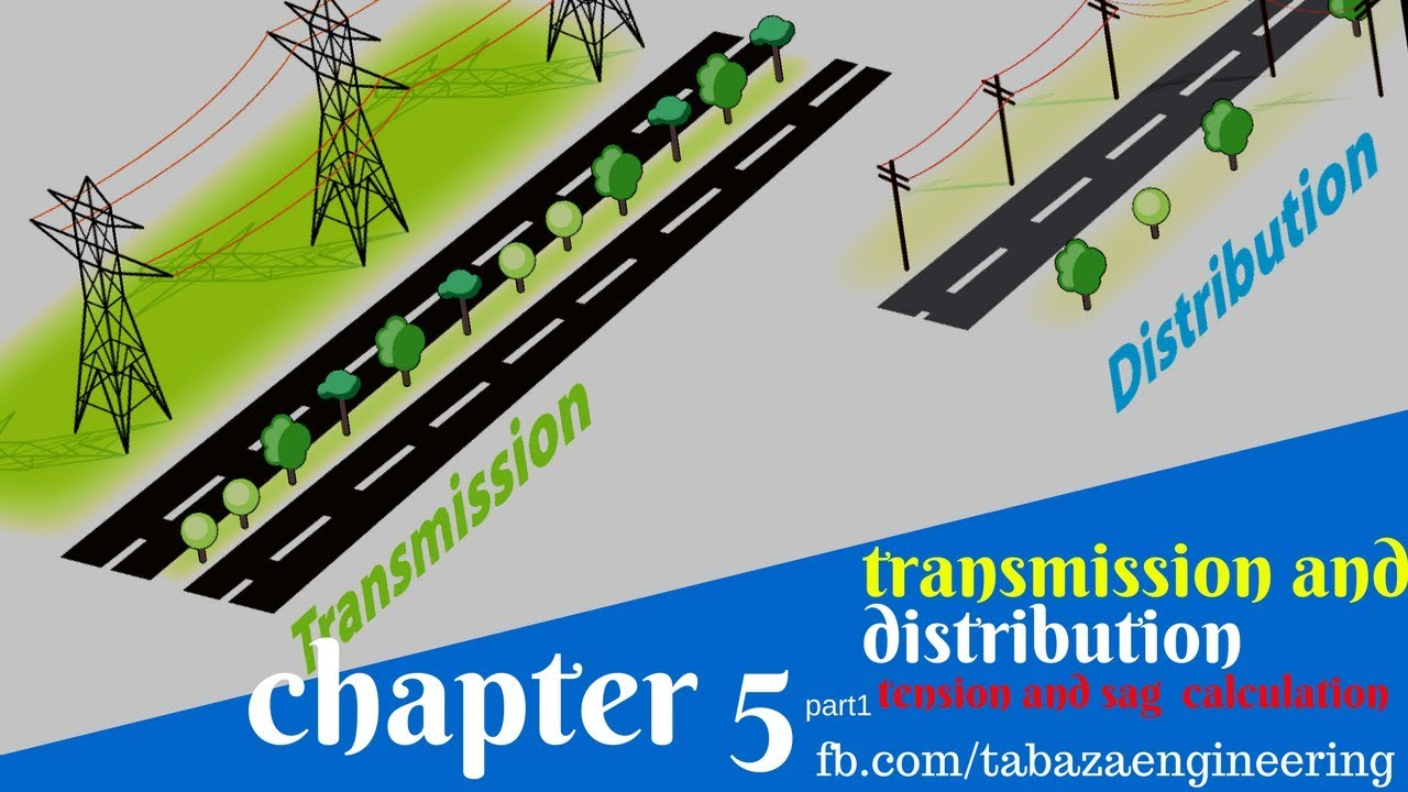 tension and sag calculation chapter 5 part1 transmission and distribution