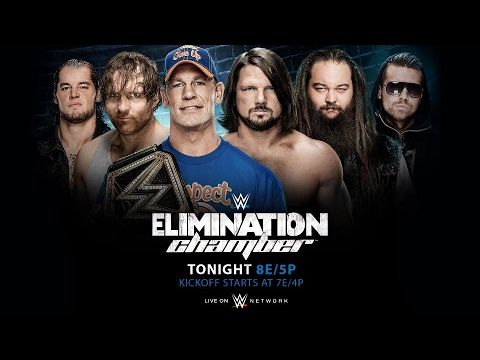 The Elimination Chamber LIVE REACTION!!!