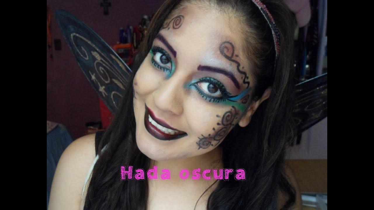 disfraz de hada maquillaje
