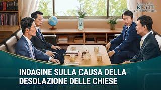 """Spezzone del film """"Beati i poveri in spirito"""" - Indagine sulla causa della desolazione delle Chiese"""