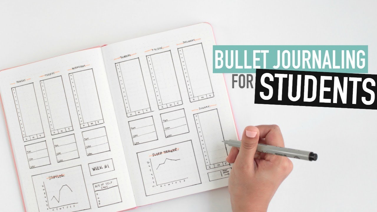 bullet journaling for students
