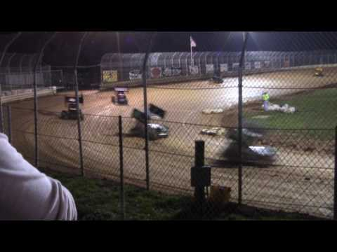 Clyde Martin Memorial Speedway 600cc Feature Race 4-29-17