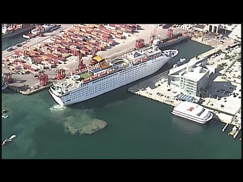 New cruise ship docks at Port of Palm Beach