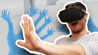 Top 5 VR Hand Tracking Apps On Oculus Quest - FREE VR GAMES!