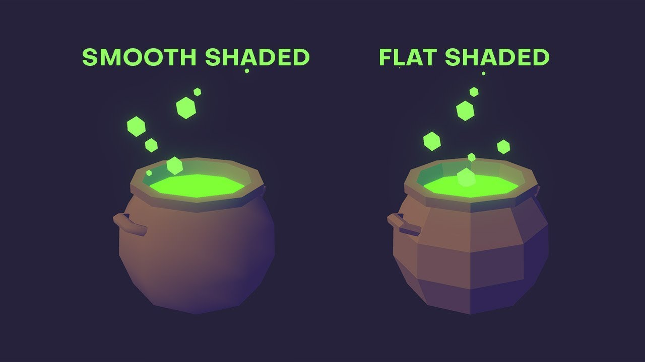 How to Change Object Shading in Unity | LMHPoly