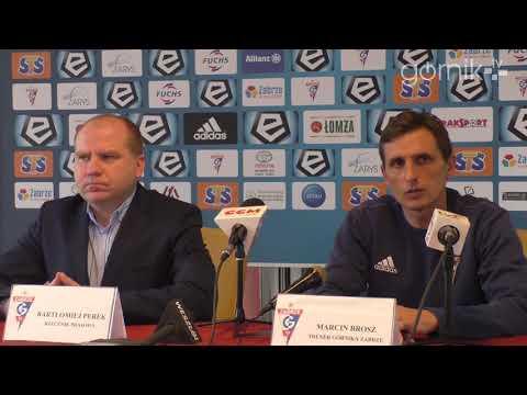 Konferencja prasowa przed meczami z Koroną Kielce oraz Hajdukiem Split