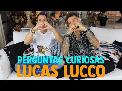 PERGUNTAS CURIOSAS COM LUCAS LUCCO | #HottelMazzafera