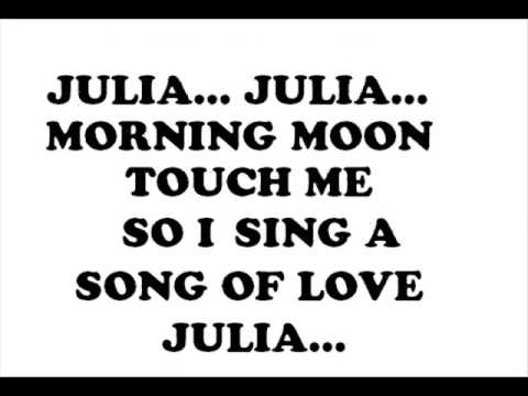 Julia (The Beatles - Cover)
