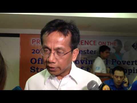 Socio-economic Planning Secretary Arsenio Balisacan