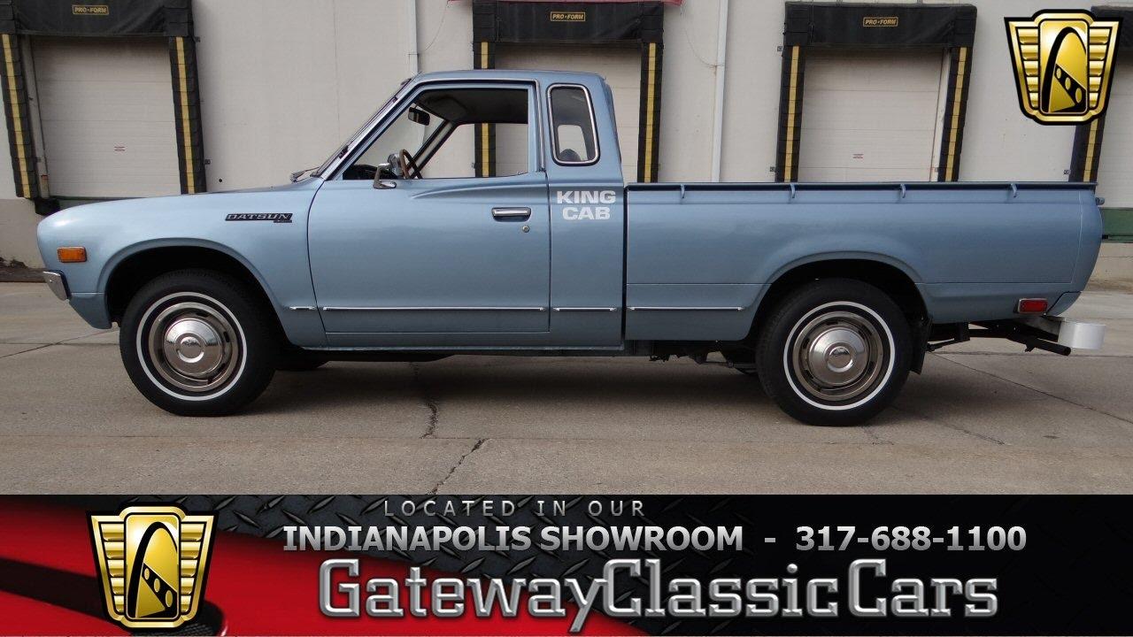 1979 Datsun King Cab 681 Ndy Gateway Clic Cars Indianapolis You