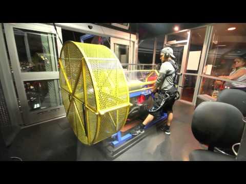 Fan Descender at Stratosphere's SkyJump Las Vegas