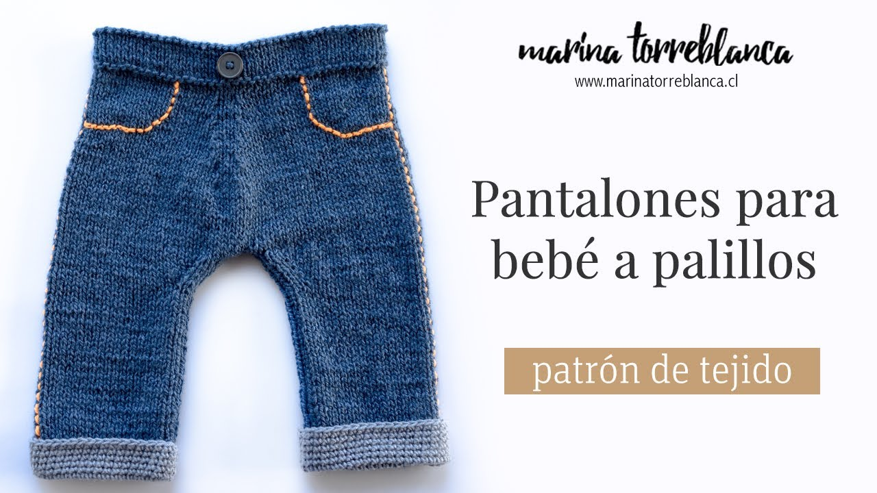b7649c9d8 Pantalones para bebe a palillos
