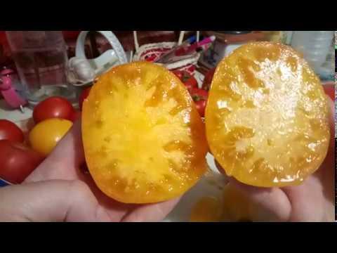Томаты Ананасный, Медовая капля! Готовлю свои семена томатов!