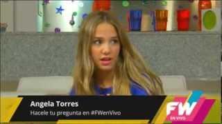 Angela Torres cantando como Adele en @FWenVivo