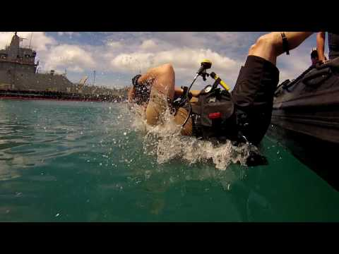 Canadian Armed Forces Combat Divers and Clearance Divers at RIMPAC 2016