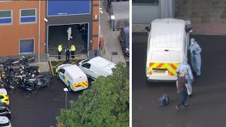 video: Police officer shot dead at station in Croydon - latest updates