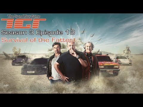 The Grand Tour GAME - Season 3 Episode 13 - Survival Of The Fattest - Full Walkthrough