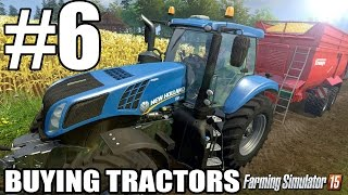 Lets Play Farming Simulator 2015 - Episode 6 - Buying Tractors