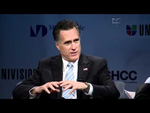 Jorge Ramos exclusive interview with Republican presidential candidate Mitt Romney