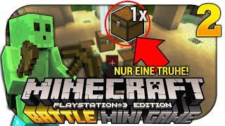 BATTLE MODE #2 - Die ''EINE Truhe'' Challenge - Minecraft ''Kampf'' Minispiel [PS3]