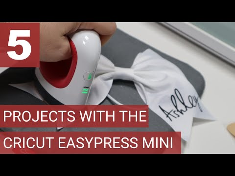 5 Projects With The New Cricut EasyPress Mini