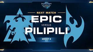 PiLiPiLi vs Epic PvT - Group B - WCS Challenger NA Season 1