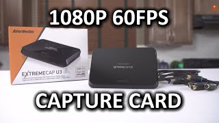 AVerMedia Extremecap U3 CV710 - 1080p 60FPS Game Capture