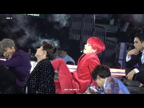 [4K] 181214 MAMA HONGKONG 마마홍콩 INTRO+ IDOL / 방탄소년단 태형 뷔 직캠 / BTS V FOCUS FANCAM