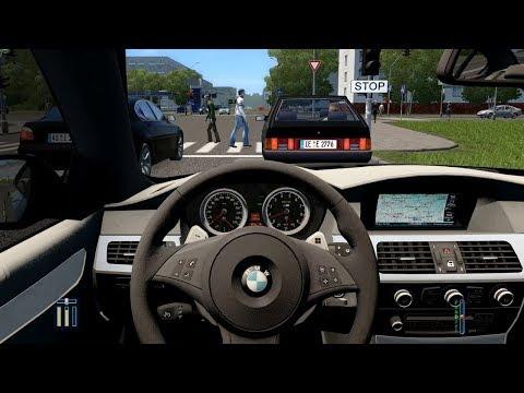 City Car Driving - BMW M5 E60 | Fast Driving