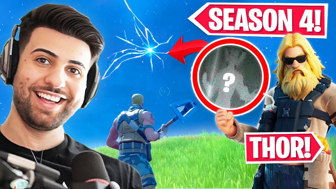 HUGE Fortnite Season 4 LEAKS! (Rift Back, Thor EVENT + MORE!)