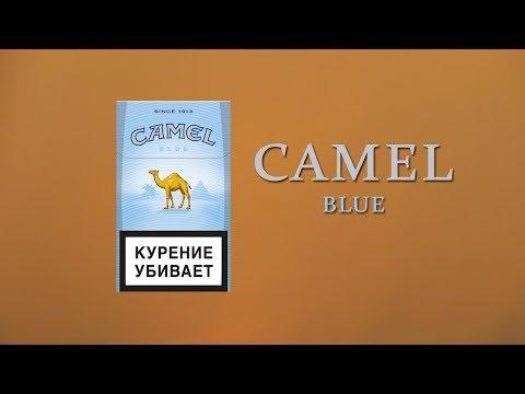 Обзор сигарет Camel blue (18+)