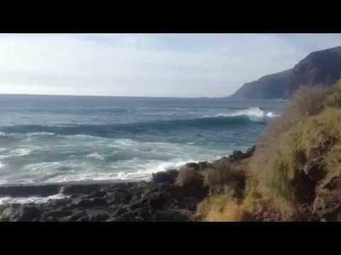 Tides or tsunami waves on Tenerife, Los Gigantes, 29. 3. 2017, part 1