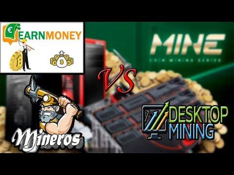 Earn Money VS Desktop Mining!!!!!!